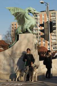 Grace Ezechiele e Claudia a Lubiana